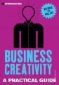 Introducing Business Creativity jacket cover