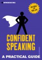 Introducing Confident Speaking jacket cover